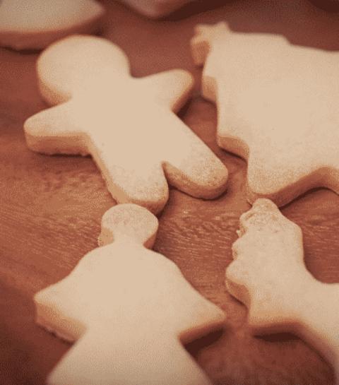 świąteczne ciasteczka wigilijne